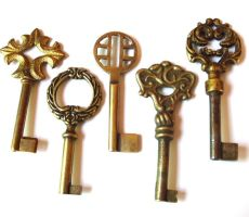 My New Antique Keys, part 1 by sojourncuriosities