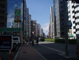 City Streets- Ikebukuro by saffiremoon21