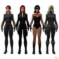 MH - Black Widow Pack by Postmortacum