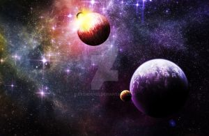Galactic Cataclysm by Evender28