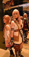 Hold My Hand - Serah and Lightning Farron Cosplay by ChibiKitsune1014