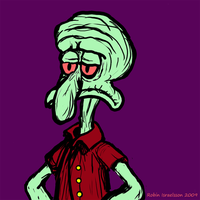 squidward sketch by rubbe