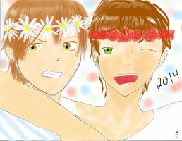 Flower Crowns Of 2014 by UsagiBard
