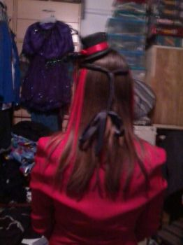 Gothic Lolita outfit close up from behind by pandagirl6662003