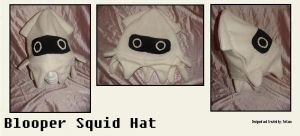 Blooper Squid Hat by Feicoon