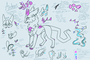 Arden Species reference guide by holuna