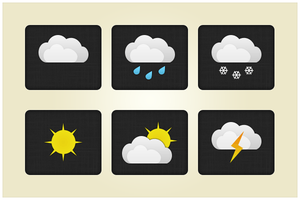 22 Weather Pack (freebie by pixelcave) by pixelcave