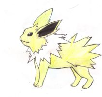 Jolteon by dark-legionleader