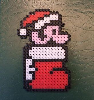 Perler Mario Ornament by NES--still-the-best