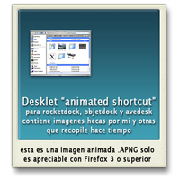Desklet icono animado by jjrrmmrr