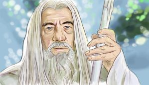 Gandalf the White by Falln4DarkAngel