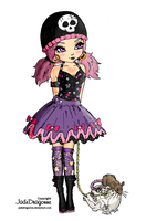 Gothic Lolita by pink-marshmallows