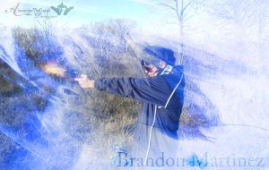 Brandon Martinez Pistol Background by BCMmultimedia