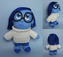 Sadness (Inside Out) plush by tstelles