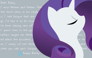 Simply Rarity Wallpaper by Artemus-D