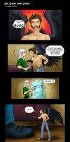 Comic - Of Gods and Gaius by evion