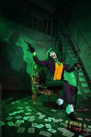 Female Joker cosplay 7 by HydraEvil