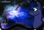Starry Night Luna -Thanks for 10,000 pageviews- by KhyberFanGirl101
