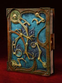 Steampunk Book by TimBakerFX
