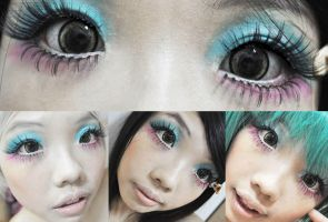 Dollywink Inspired Makeup 04 by lavena-lav