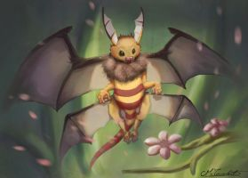 Honey dragon by MilicaClk