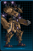 corrupted chrono mech by The-Architetcer