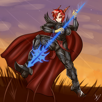 Red Warrior by sixpathsoffriendship