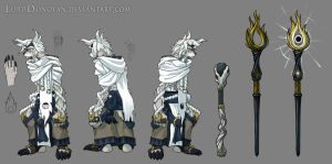 Sage Hauthen Basic Model Sheet by LordDonovan