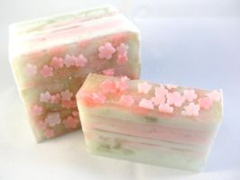 Fairy Tale Soap: Tinkerbell by lizessweetsoapshop