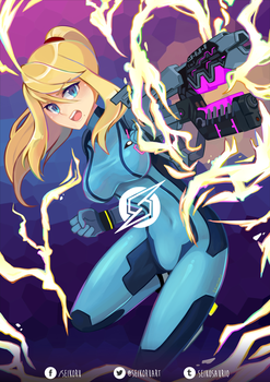 Super Smash Bros. - Zero Suit Samus by Seikoru