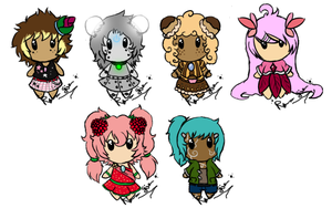 Adoptables 10 :CLOSED: by Rika-Pika