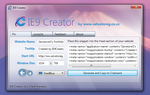 IE9 Creator v0.1 Tech Preview by SalvoG92