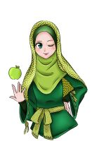 Applemints Hijab by diddywut
