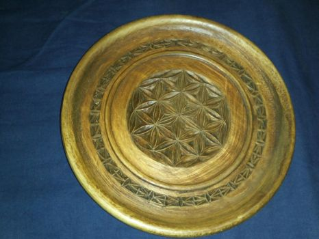 wood plate by CehZ
