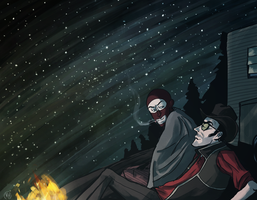 Campfire by monkette