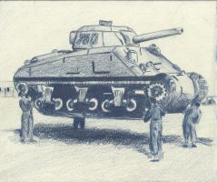 Inflatable Tank by Marpaparp