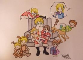 A Kirkland Christmas~ by LadyNightingale01