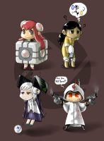 PORTAL characters by odaleex