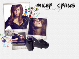 Wallpaper 6: Miley Cyrus by Lil-Plunkie