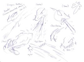 Dragon Battle Ref by Winged-Dragoness
