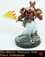PH Thousand Sons Pyrae Commander by Proiteus