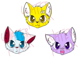 Kiyttani Charms :3 by MissKittens
