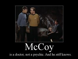 Spirk Demotivator - McCoy by TreeofKnowledge