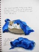 Journal entry - Andy the dog by gypsysnail
