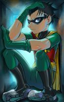 Robin time out by lazesummerstone