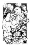 The Incredible Hulk by illustrated1