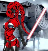 Darth Talon color by Marvsamune