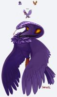 Arbok + Fearow = Arbrow by Sabtastic