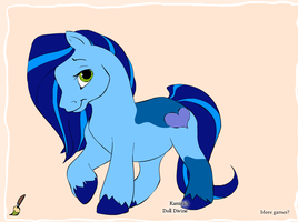 My Little Pony - Blue by Mommy-of-Ein
