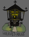 Drawdown: Haunted House by RadioactiveSoda